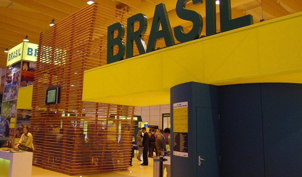 Embratur - Turismo do Brasil - Stand Mundial 2002-2004