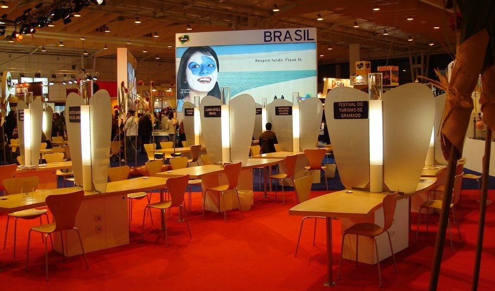 Embratur - Turismo do Brasil - Stand Mundial 2005-2007