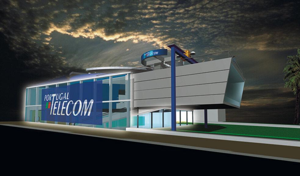 Portugal Telecom - Pavilhão Temporário na Expo'98 - Lisboa
